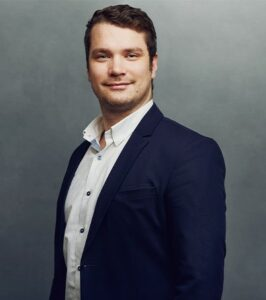 Meet the Team of experts - Photo of Juraj Siska, person in business suit, smiling, male, gallantly, standing upright